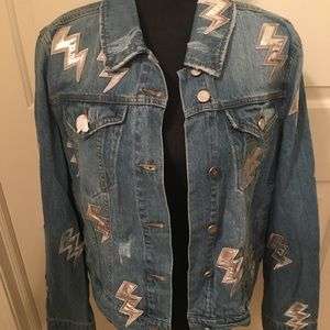 NWT AUTHENTIC BAGATELLE 💯 COTTON DENIM JACKET